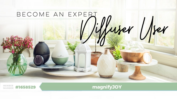 Become an Expert Diffuser User - Essential Oils magnifyJOY YLEO Team