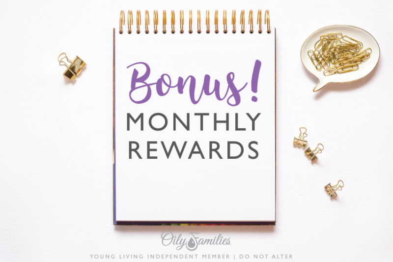 2. THE BASICS Have you heard about one of Young Living's best kept secrets? Well, maybe it's not a secret, but you MAY not realize how much you can benefit from this. I'm talking about the Essential Rewards (ER) program. This is a monthly subscription box program that is available only for those who are YL wholesale members. To enroll in this program, you commit to spending only $50 (50 PV) a month on YL oils and other products. So, what ARE the benefits of being an ER member? Essential Rewards does exactly what its name suggests. It rewards you for being a wholesale member who orders monthly. Here is how you are rewarded. * Access to Young Living's YL Go shipping savings program * Special monthly sales and bonus promotions * Loyalty gifts at different membership milestones Before we get to the other benefits, if you have this month's YL promotional items info handy take a look. Can you find the bonus product(s) that's only sent to Essential Rewards members? Exciting!