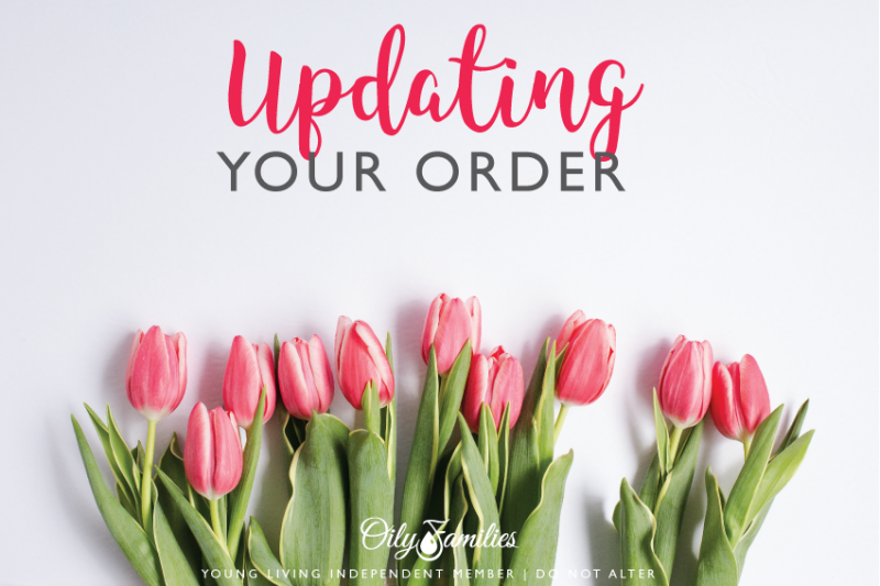 8. UPDATING YOUR ORDER Wondering how to change your monthly order once you enroll? Just follow these simple steps: * Log in to your Virtual Office. * Click Essential Rewards in the menu. * Click the View Order button. * Add new items to your cart. * Click the trash can icon by any items you want to remove from your cart. * Click the Save Monthly Order button. * Return to your Essential Rewards summary page to update your shipping, processing date, or payment method. Helpful Hint: If you get emails from Young Living, they will email you a monthly reminder a few days before your next ER order is scheduled to process. If you're not getting emails from YL, go to My Account > My Preferences to change your settings. 9. SPENDING POINTS So now to the fun part…. spending those points you earn! Remember, each point is worth $1 toward products. To redeem your points, place a Quick Order. The Quick Order button is on the left side of the Welcome page on your Virtual Office dashboard. It's in the menu on mobile devices. Put the items you want into your cart. Head to the check out, and choose points as your payment method. Checkmark the items you want to buy using points. You must have enough points to fully purchase each product. However, you CAN pay for some items using points and then pay for additional items separately. If a product's PV and price don't match, you can't redeem ER points for it. Example: Diffusers have a lower PV than their cost, so they can't be purchased with points. Also, newly released products can't be purchased with ER points. Pro Tip: If you search for an item and see a little blue flag beside it's PV, it IS eligible for ER point redemption! ER points expire 12 months after they have been earned. Your Virtual Office will let you know if you have points that are about to expire. Watch this short video to see how the point redemption process works. https://vimeo.com/106766258