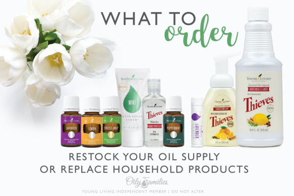12. HELPFUL HINTS FOR ORDERING You only get ONE Essential Rewards order per month, so you want to choose your products wisely. How do you decide what to order each month? Check your supply of oils that you use regularly. Do you have enough to last for the next few weeks? If not, add them to your ER order. Pick one or two of your current home care or personal care products and replace them with a healthier option from Young Living. Think about the possibilities! * Household cleaner * Toothpaste, mouthwash * Shampoo, conditioner * Bar soap, shower gel * Deodorant, lotion * Facial cleanser * Makeup * Baby care products Remember, ordering these things on Essential Rewards earns you points for products you would be purchasing anyways! Which home or personal care product would you like to swap out for a non-toxic alternative?