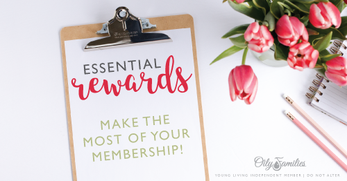 Young Living Essential Rewards!