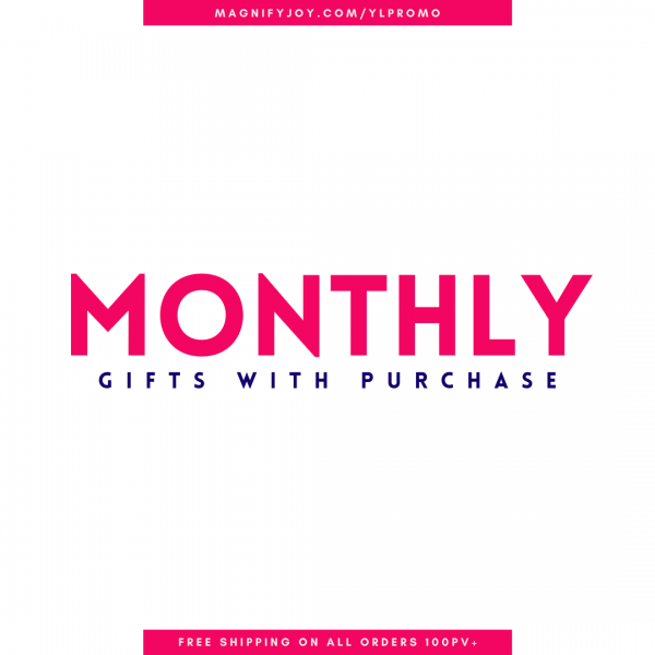 Magnify JOY Graphics - Monthly Gifts with Purchase