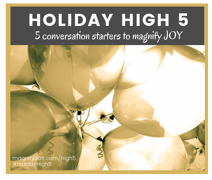 magnify JOY holiday high5 planning for trips and holidays with less stress