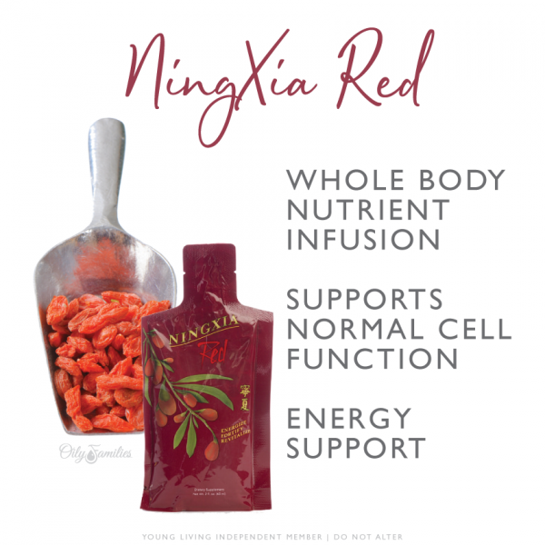 NingXia Red Whole Body Nutrient Infusion Young Living Essential Oils