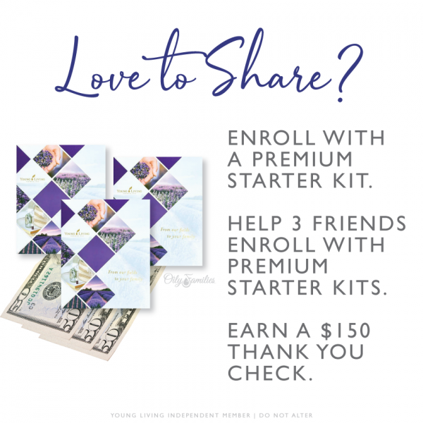 Love to Share - make money with Young Living